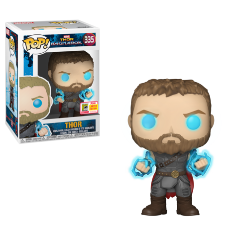SDCC 2018 Exclusive Thor Ragnarok - Thor with Odin Force Pop! Vinyl Figure