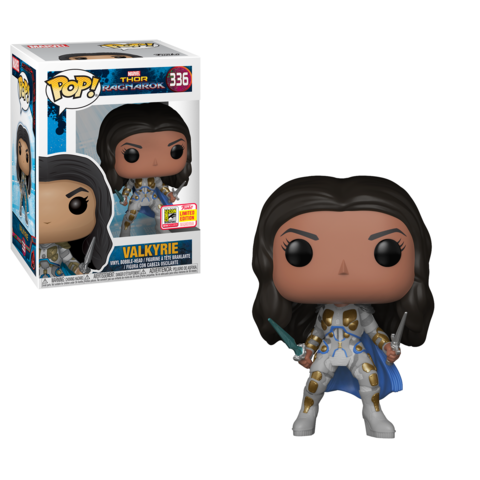 SDCC 2018 Exclusive Thor Ragnarok - Hero Valkyrie Pop! Vinyl Figure