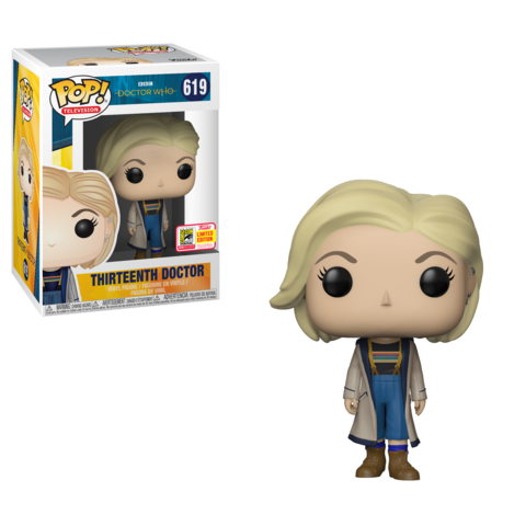 SDCC 2018 Exclusive Doctor WhoThirteenth Doctor Pop! Vinyl Figure (LE 1300 1st to Market)