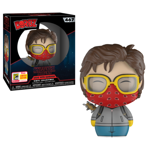 SDCC 2018 Exclusive Stranger Things - Steve with Bandana Dorbz Vinyl Figure