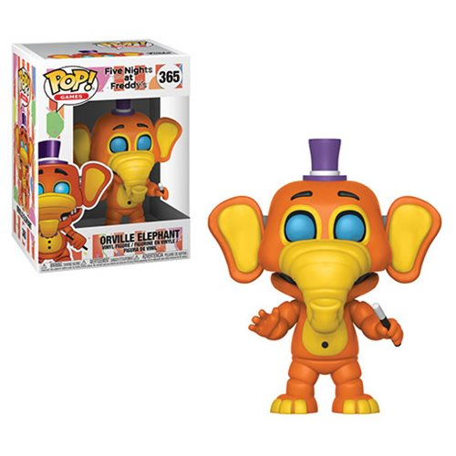 Five Nights at Freddy's: Pizza Simulator Orville Elephant Pop! Vinyl Figure #365
