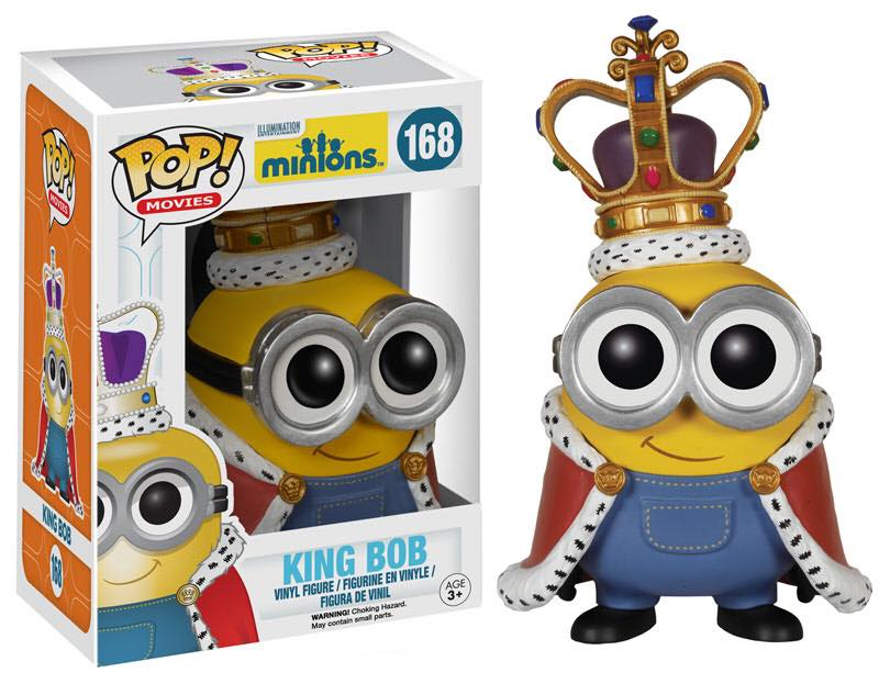 Minions King Bob POP! Vinyl Figure #168