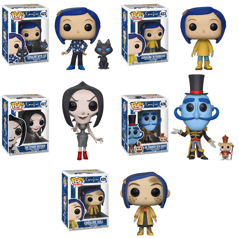 Preorder Coraline Coraline Pop! Vinyl Figures Set of 5