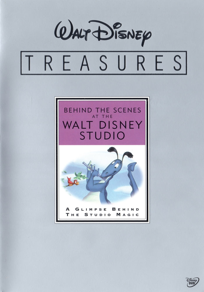 Walt Disney Treasures DVD  - Behind the Scenes at the Walt Disney Studio