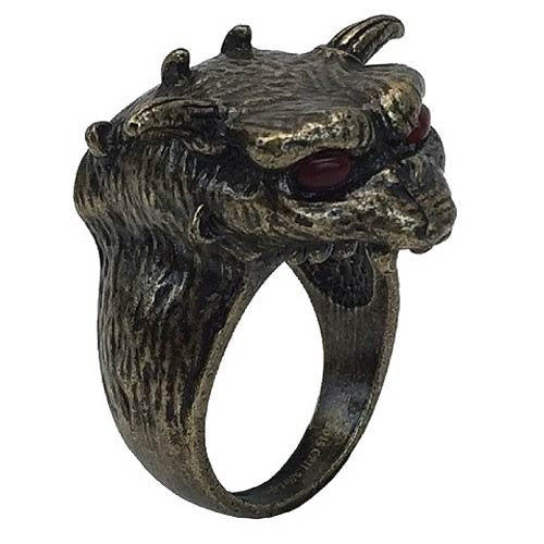 Ghostbusters Terror Dog Ring Medium Size10