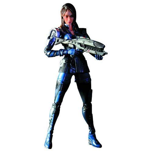 Mass Effect 3 Play Arts Kai Ashley Williams Figure