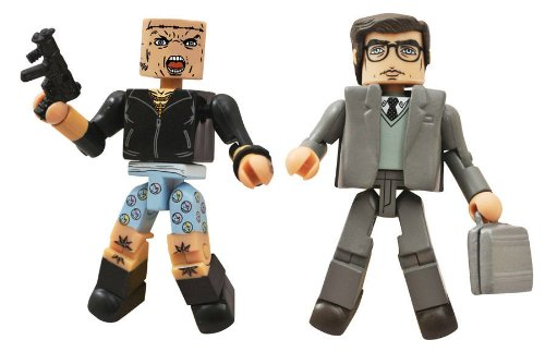 Amazing Spider-Man 2 Minimate Figures Alistair Smythe and Aleksei Sytsevich