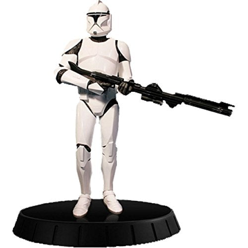 Star Wars White Clone Trooper Deluxe Statue