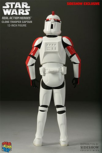 "Star Wars 'Clone Trooper Captain"" Real Action Heroes Figure"