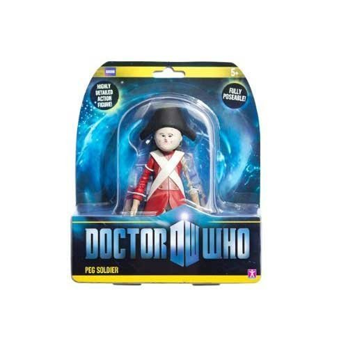 Doctor Who Peg Soldier Action Figure from Underground Toys