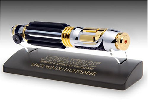 0 Episode Wars Scaled Lightsaber Master Windu Ii Mini Star Replicas Mace 45 vO8nN0wm