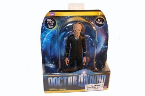 Doctor Who The Silent with Open Mouth Action Figure