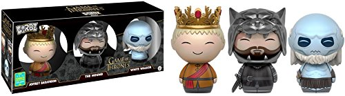 SDCC 2016 Exclusive Game of Thrones 3 Pack - Joffrey - The Hound - White Walker