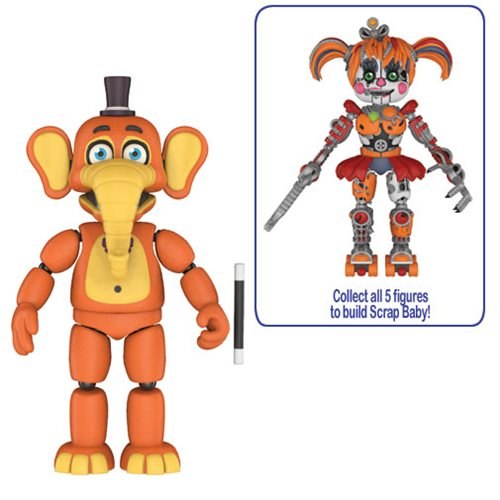 Preorder September 2018 Five Nights at Freddy's: Pizza Simulator Orville Elephant 5-Inch Action Figure