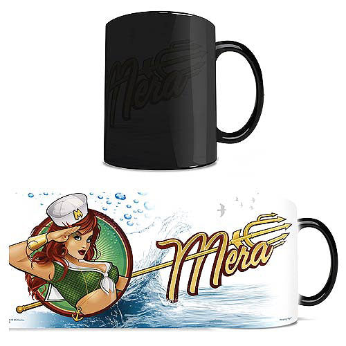 DC Comics Justice League (Mera Bombshell) Morphing Mugs Heat-Sensitive Mug
