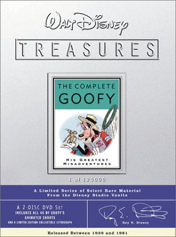 Walt Disney Treasures - The Complete Goofy (1941) DVD