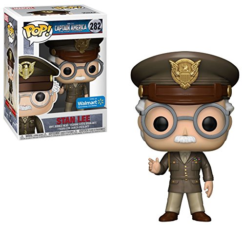 Captain America The First Avenger Stan Lee Cameo General POP! Vinyl Figure #282