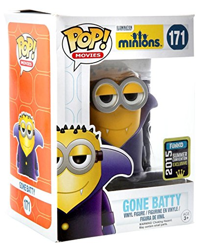 Funko Pop Vinyl Minions Gone Batty 2015 Summer Convention Exclusive