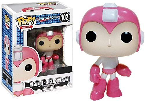 Megaman Quick Boomerang Game Stop Exclusive POP! Vinyl Figure #102