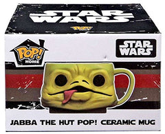 2016 July Smugglers Bounty Jabba the Hut Funko Pop! Home Ceramic Mug - Toy Wars - Funko