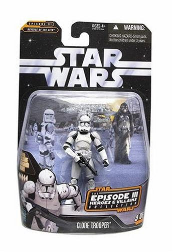 Hasbro Star Wars Heroes and Villians Collection Clone Trooper Action Figure