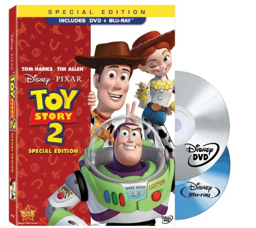 Toy Story 2 (Two-Disc Special Edition Blu-ray/DVD Combo w/ DVD Packaging) (1999)
