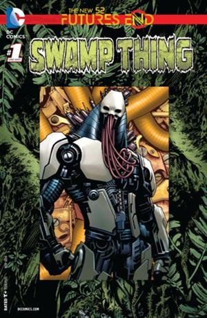 Swamp Thing Futures End #1 3D Cover Comic Book