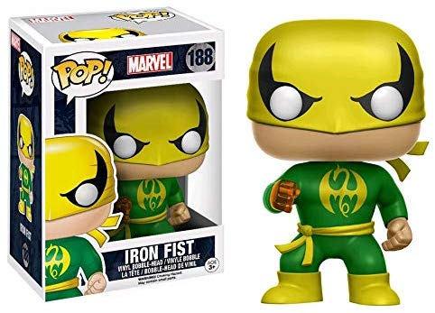 Funko Pop! Marvel Classic Iron Fist Vinyl Figure