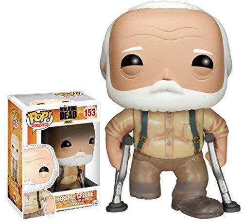 Funko Walking Dead Hershel Pop Tv Figure Toy 3 X 4In Action Figure