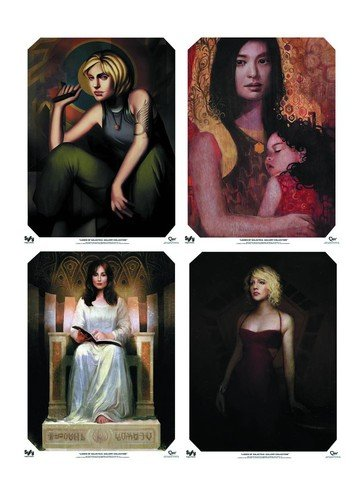 Ladies of Battlestar Galactica Poster Set