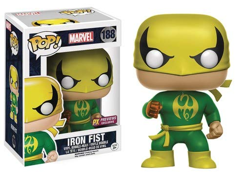 Classic Iron Fist PX Exclusive POP! Vinyl Figure #188