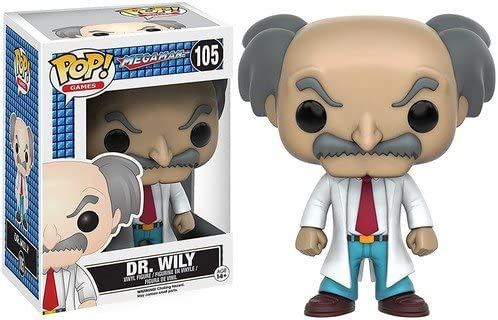 Funko POP Games: Mega Man - Dr. Wily Action Figure