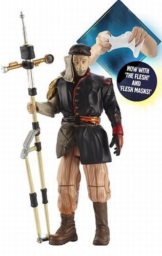 Doctor Who Uncle Action figure with Flesh Mask