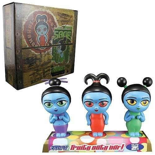Serenity Fruity Oaty Girls Bobblehead Maquette  - Open Box Display Item