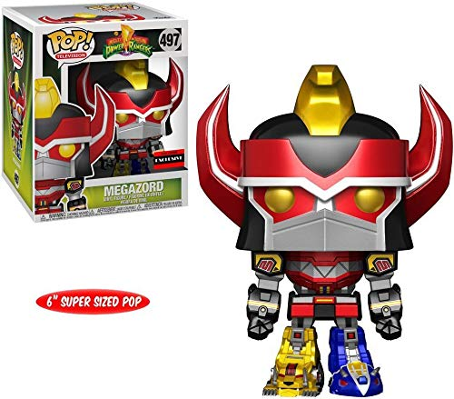 AAA Anime Exclusive Power Rangers Metallic Megazord 6 Inch POP! Vinyl Figure