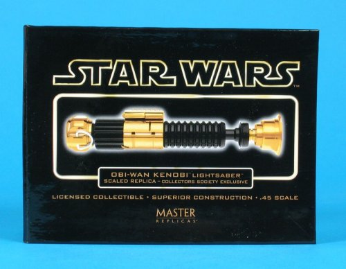 Star Wars Obi-Wan Kenobi Gold Collectors Society Exclusive Scaled Lightsaber