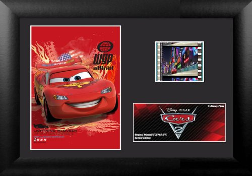 Cars 2 (S7) Lightning McQueen Minicell Film Cell
