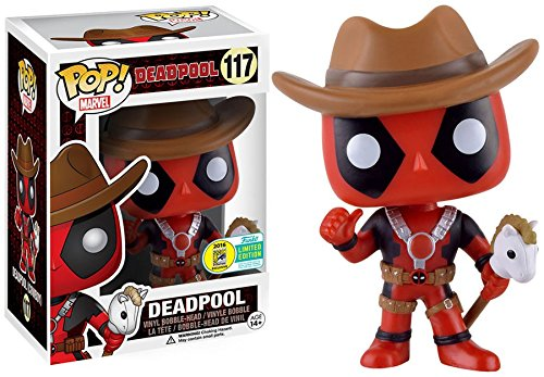 SDCC 2016 Exclusive Cowboy Deadpool POP! Vinyl Figure #117