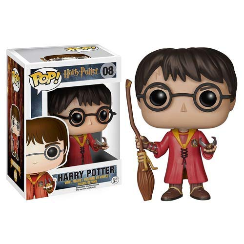 Harry Potter Quidditch Harry Pop! Vinyl Figure #08