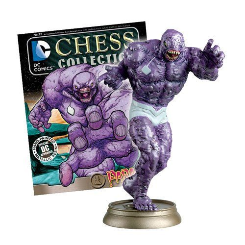 DC Superhero Chess Figure & Magazine #72 Parasite Black Pawn