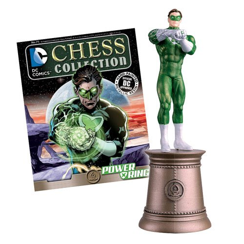 DC Superhero Chess Figure & Magazin #71 Power Ring Black Bishop