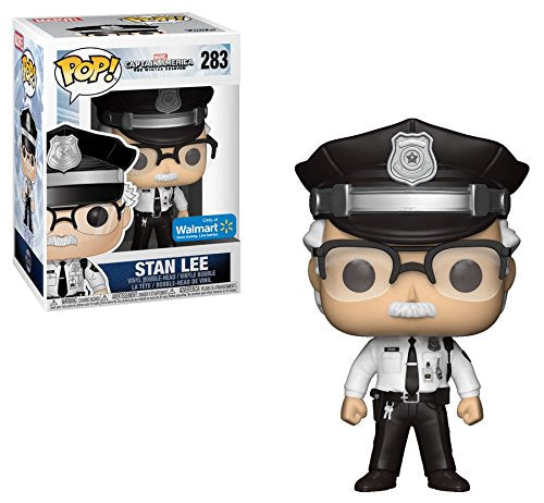 Captain America Winter Soldier Stan Lee Cameo Police POP! Vinyl Figure #283