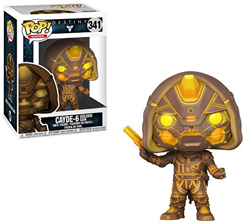 Destiny Cayde-6 with Golden Gun GameStop Exclusive POP! Vinyl Figure #341