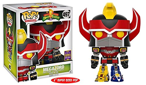 Power Rangers SDCC 2017 Exclusive Megazord POP! Vinyl Figure #497