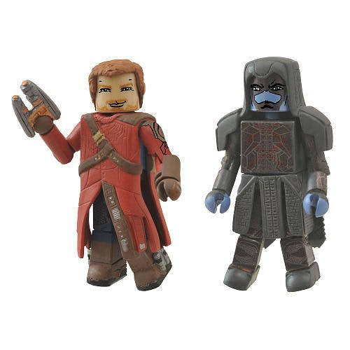 Guardians of The Galaxy Minimate Figures 2-Pack Star-Lord & Ronan