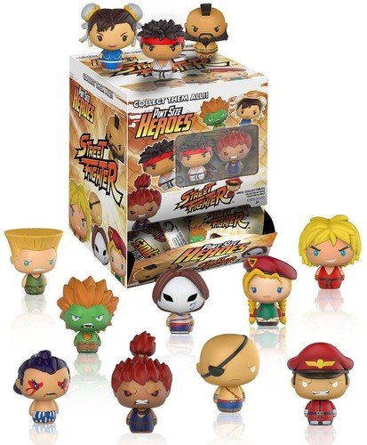 Street Fighter Pint Size Heroes Mini-Figure (5 Random Figures)