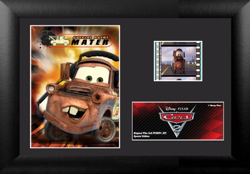 Cars 2 (S3) Sir Tow Mater KBE Minicell Film Cell