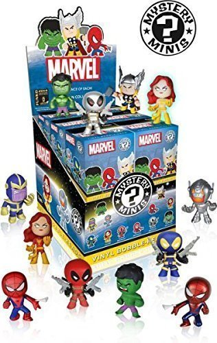 SDCC 2014 Comic Con Exclusive Marvel Mystery Mini Figures (One Random Figure)