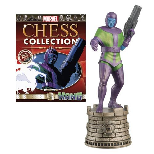 Marvel Chess Figure & Magazine #11 Kang Black Rook