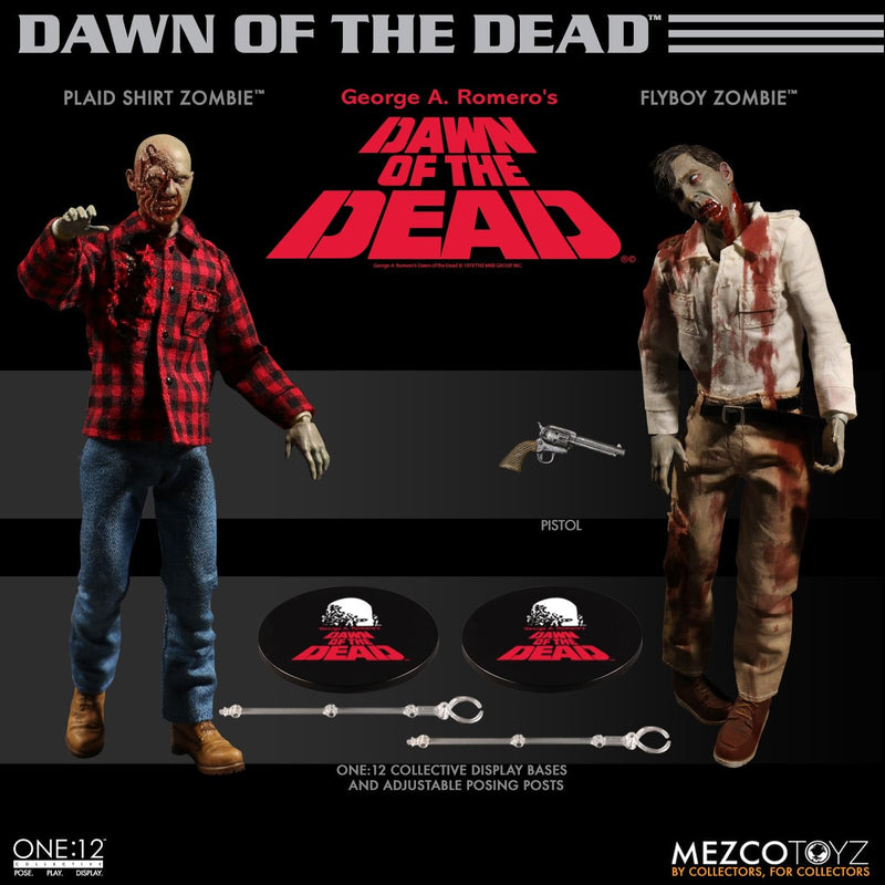 Preorder December 2018 Dawn of the Dead Box Set One:12 Collective Action Figures